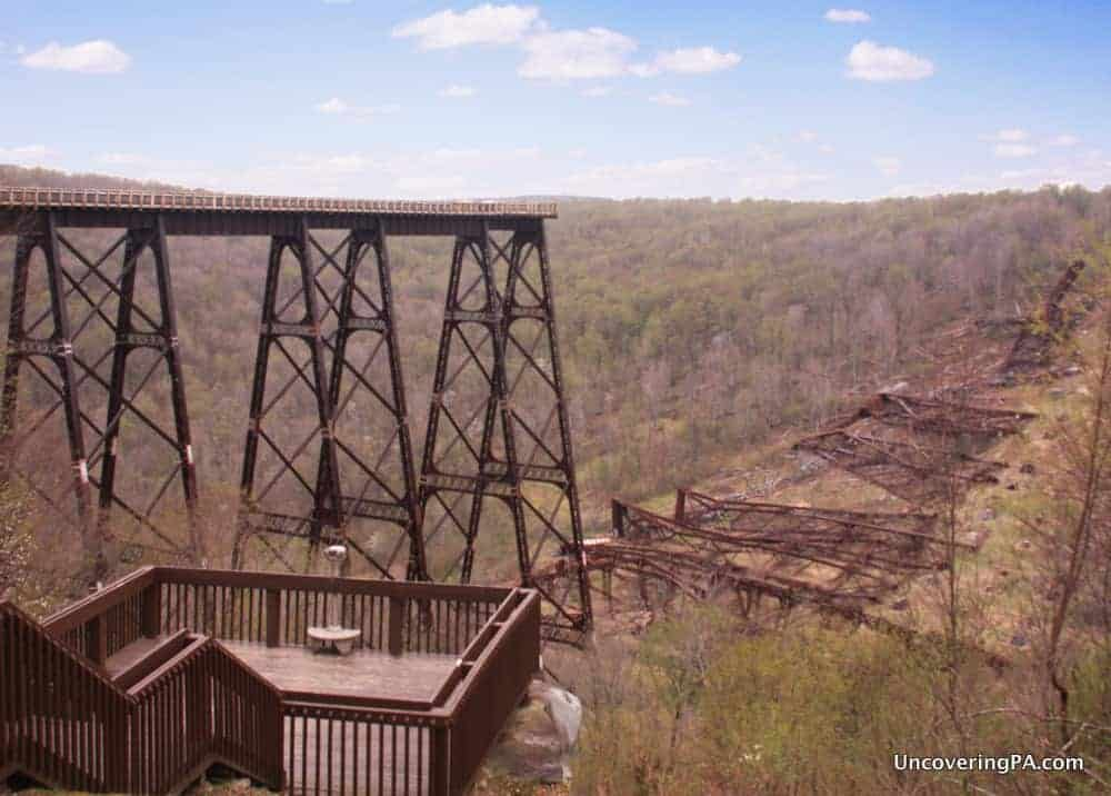 Places to visit in Pennsylvania before you die: Kinzua Bridge State Park