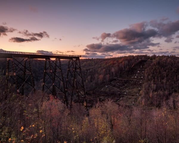 Sunset at Kinzua Bridge State Park