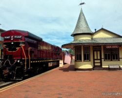 Riding the Rails Through Bucks County on the New Hope and Ivyland Railroad