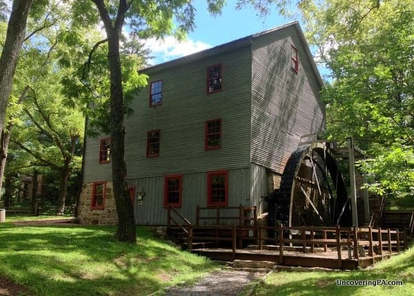 The historic Shoaff's Mill in Little Buffalo State Park.