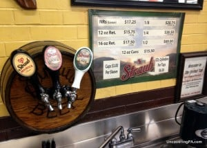 The Eternal Tap as see on the Straub Brewery Tour in Saint Marys, Pennsylvania.
