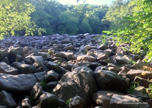 Seven Natural Wonders of Pennsylvania - Ringing Rocks County Park