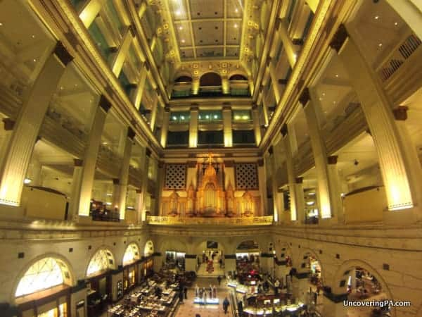 Pennsylvania Bucket List: Wanamaker Organ concerts