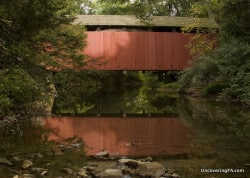 Zimmerman Covered Bridge: Visiting the Covered Bridges of Schuylkill County, Pennsylvania.