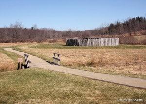 Visiting Fort Necessity National Battlefield in the Laurel Highlands of Pennsylvania.