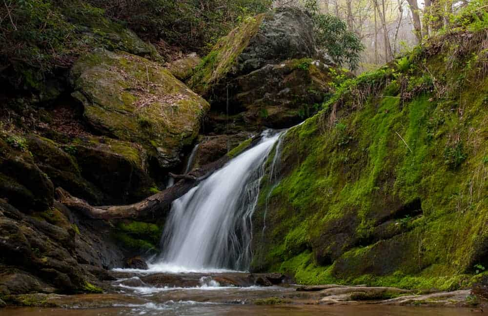 Mill Creek Falls in York County, PA
