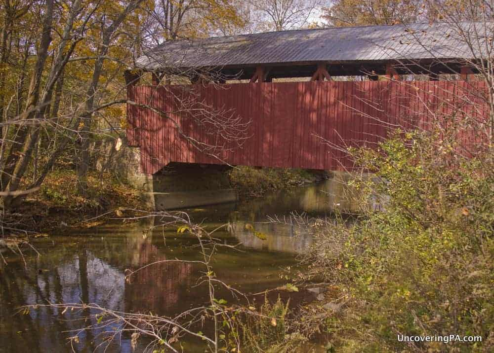 Aline Covered Bridge - One of the Covered Bridges of Snyder County, Pennsylvania.