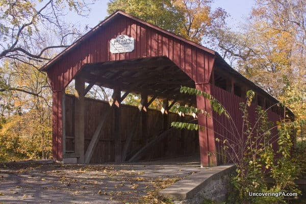 Dreese's Covered Bridge in Snyder County, Pennsylvania.