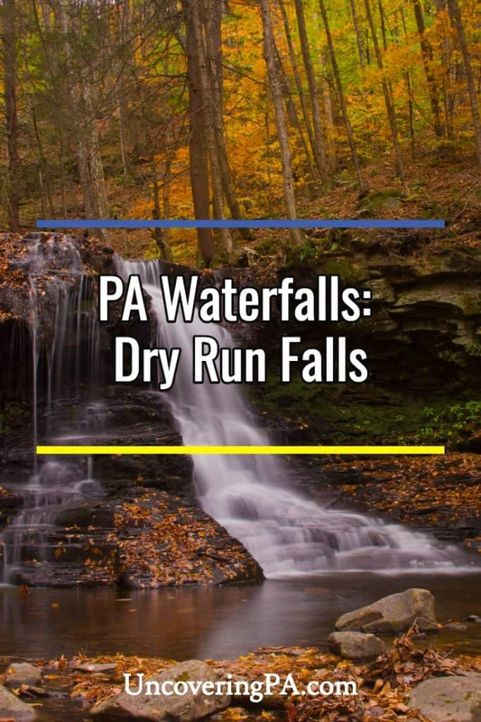 Dry Run Falls in Loyalsock State Forest