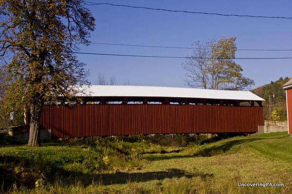 Klinepeter Covered Bridge in Snyder County, Pennsylvania.