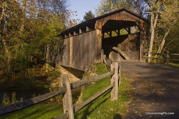 Port Royal (Lehman's) Covered Bridge in Juniata County, Pennsylvania.