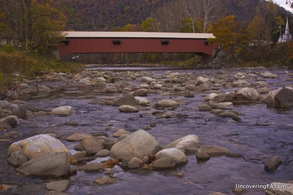 Forksville Covered Bridge - Visiting the Covered Bridges of Sullivan County, Pennsylvania