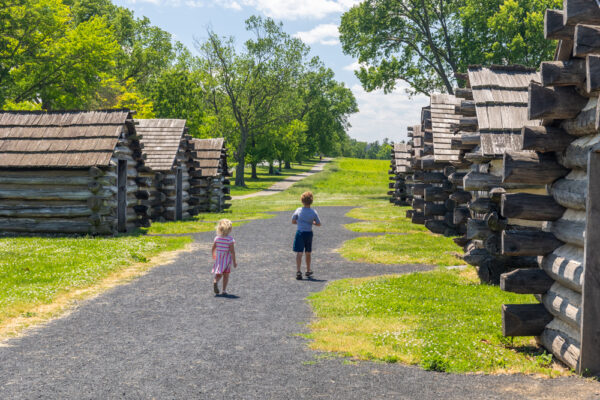 Soldier's quarters at Valley Forge, PA