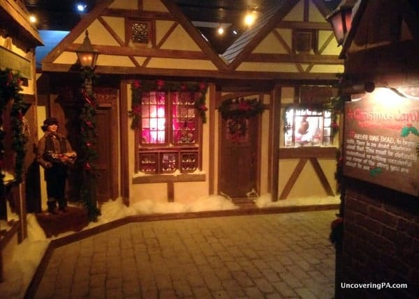 Macy's Dickens' Village is one of the top Christmas things to do in Philadelphia.