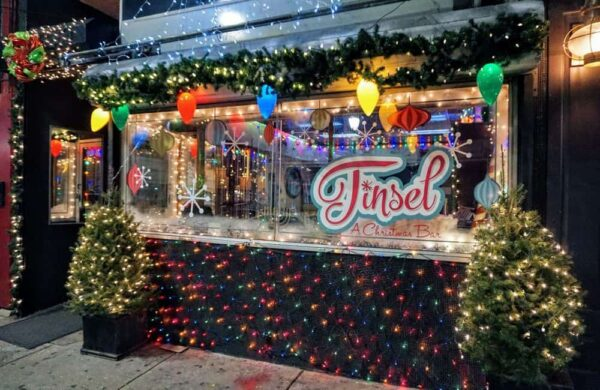 Tinsel is a great place to have a drink in Philadelphia during Christmas