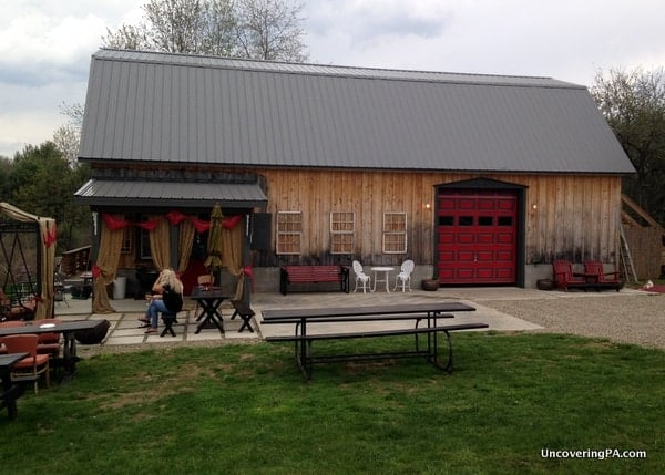 The surprisingly awesome Red Bandana Winery in Clarion County, Pennsylvania.