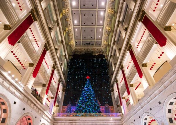 Christmas at the Wanamaker Organ in Philly.