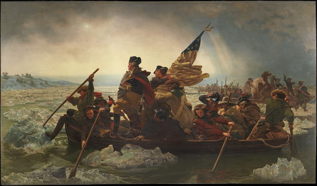 Emanuel Leutze's very stylized painting of Washington crossing the Delaware is known by many and has led to many incorrect assumptions about the event.
