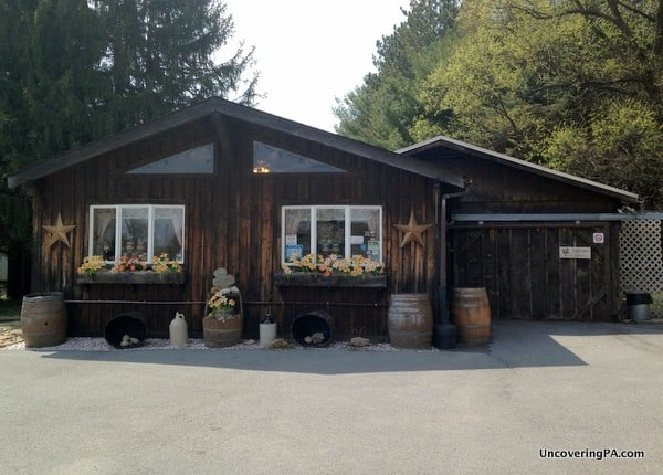 The Winery at Wilcox in Elk County, Pennsylvania