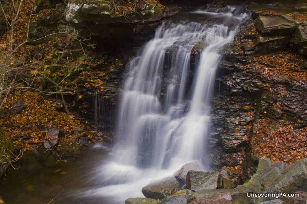 Big Run Falls in State Game Lands 13, Sullivan County, Pennsylvania