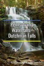 Dutchman Falls in Sullivan County, PA