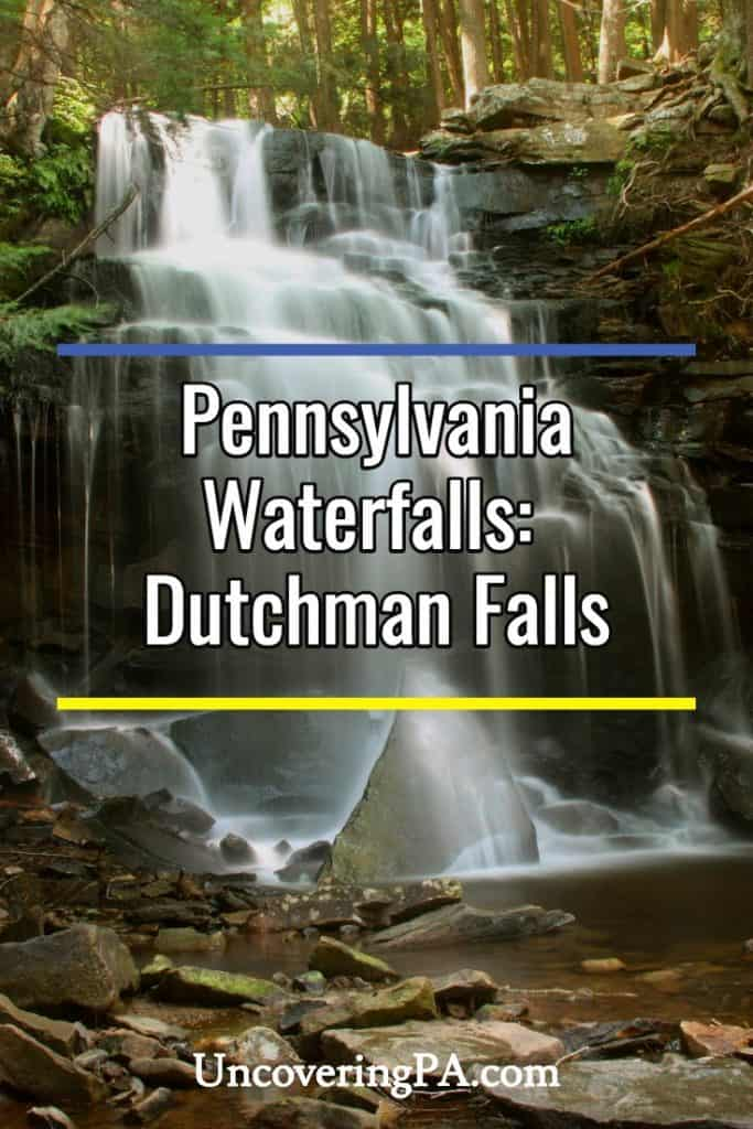 Dutchman Falls in Sullivan County, PA