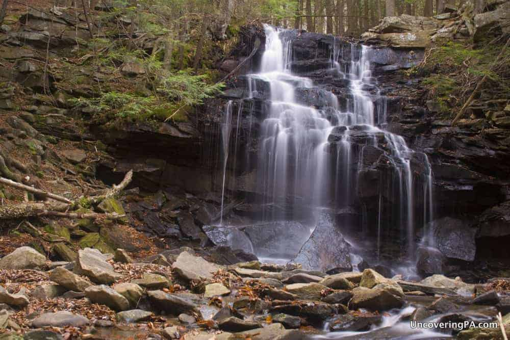 How to get to Dutchman Falls in Sullivan County: Pennsylvania Waterfalls