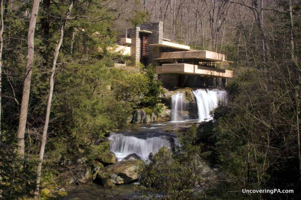 Fallingwater near Pittsburgh, Pennsylvania