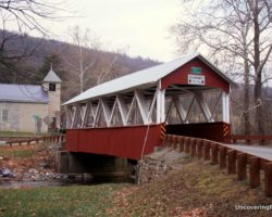 Visiting the Last Covered Bridge in Huntingdon County, Pennsylvania