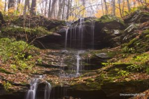 How to Get to Colley Falls in State Game Lands 66, Sullivan County, Pennsylvania.