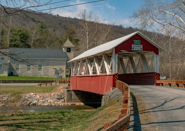 St. Mary's Covered Bridge in Huntingdon County, PA