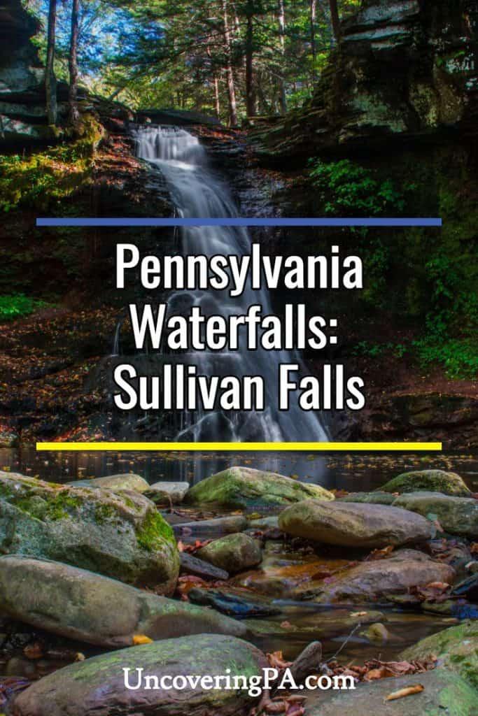 Sullivan Falls in PA
