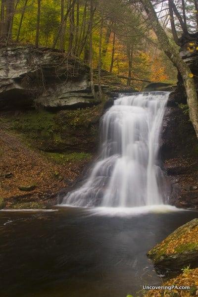 Pennsylvania Waterfalls: Visiting Sullivan Falls in State