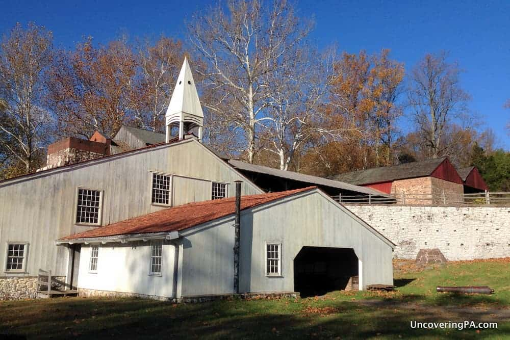 Visiting Hopewell Furnace National Historic Site to Learn About America's Industrial Past