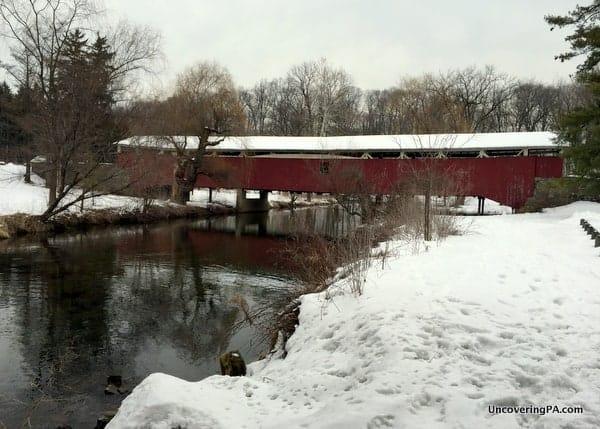 How to get to Bogert's Covered Bridge in Allentown, Pennsylvania.