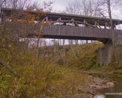 Visiting the Last Covered Bridge in Bradford County, Pennsylvania