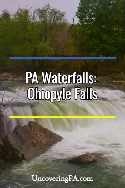 Ohiopyle Falls in Pennsylvania
