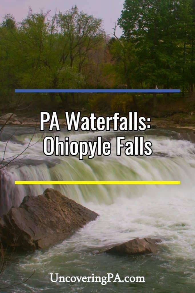 Ohiopyle Falls in Pennsylvania