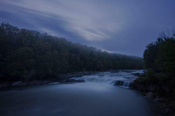 Ohiopyle Falls in the Laurel Highlands of Pennsylvania