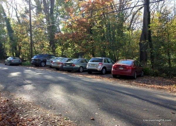 Where to park for Thomas Mill Covered Bridge