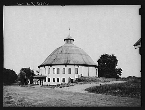 The Round Barn in Adams County, Pennsylvania.