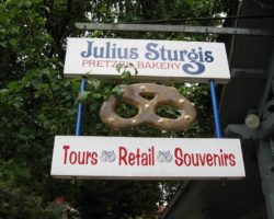 Touring the Julius Sturgis Pretzel Bakery in Lititz