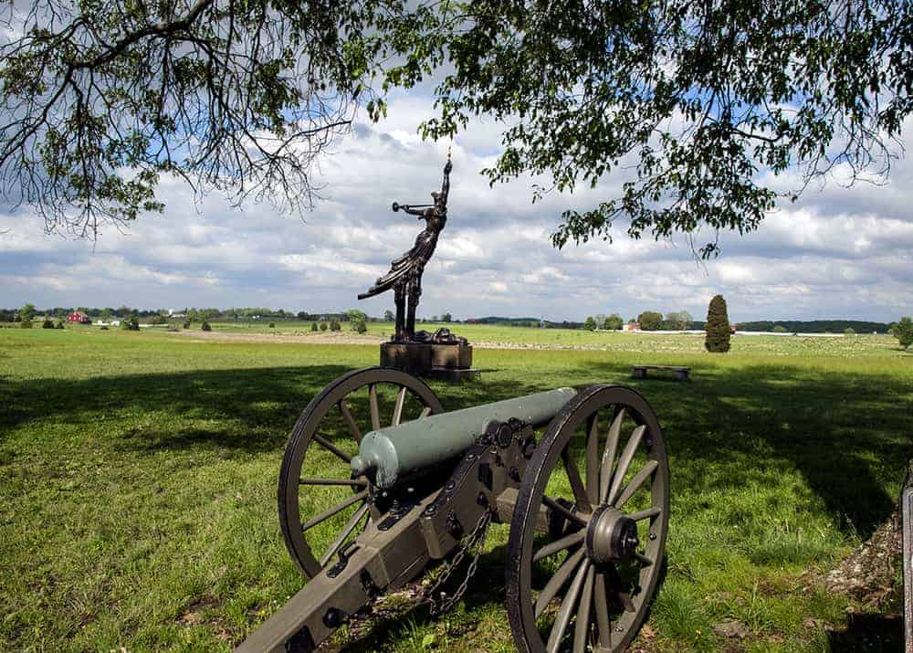 Free Things to do in Gettysburg, Pennsylvania.