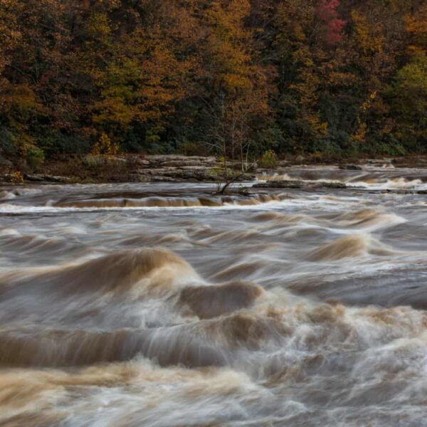 How to get to Ohiopyle Falls in Ohiopyle, Pennsylvania