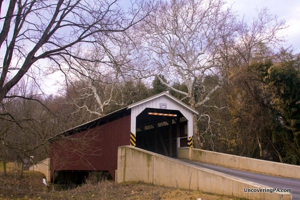 Baumgardner's Covered Bridge in Lancaster County, PA.