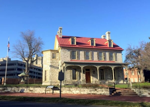 Review of the Harrison-Cameron Mansion in Harrisburg, Pennsylvania