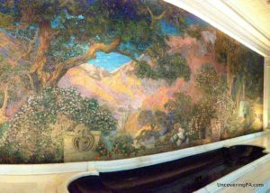 How to get to the Dream Garden in the Curtis Center in Philadelphia, Pennsylvania