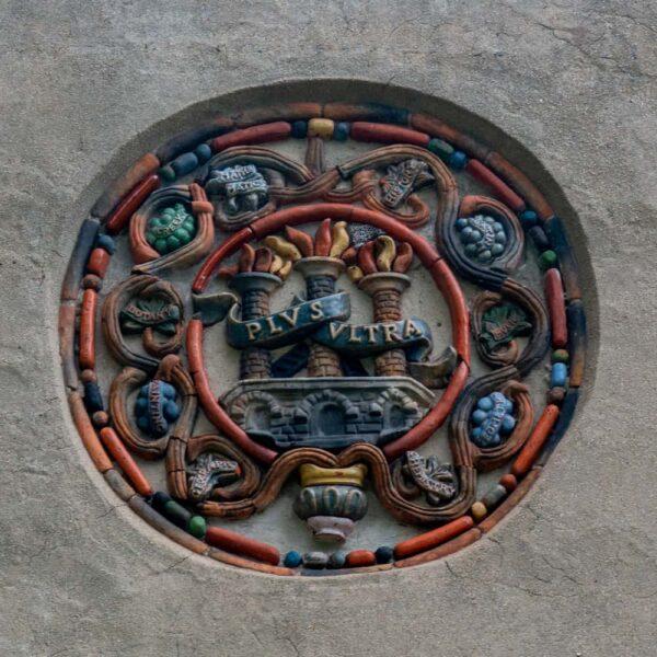 Moravian tiles in Doylestown, PA