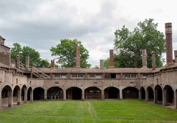 Visiting the Moravian Pottery and Tiles Works in Doylestown, Pennsylvania