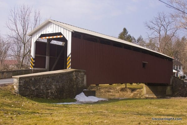 Neff's Mill Covered Bridge in Lancaster County, Pennsylvania